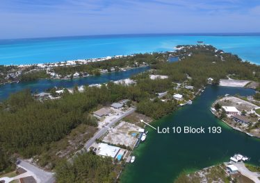 Lot 10 Block 193 - Sheltered Galleon Bay Canal Lot