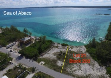 Lot 21 Block 200 - 74' Of Water Frontage On The Sea Of Abaco