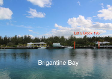 Lot 5 Block 195 Offers 80' Of Frontage Along Brigantine Bay Canal
