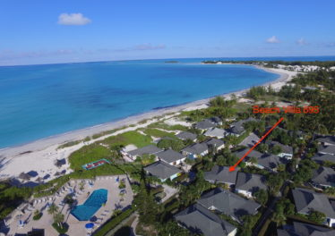 Aerial Overview Of Beach Villa 695