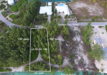 Lot 82, Block 199 Treasure Cay Abaco Bahamas Waterfront Lot