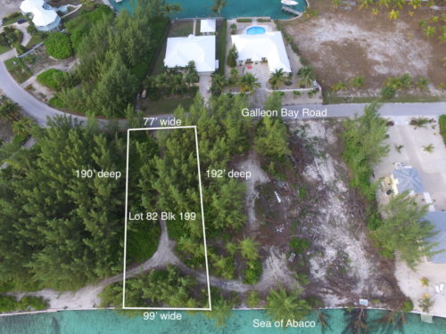Lot 82, Block 199 Treasure Cay Abaco Bahamas Waterfront Lot