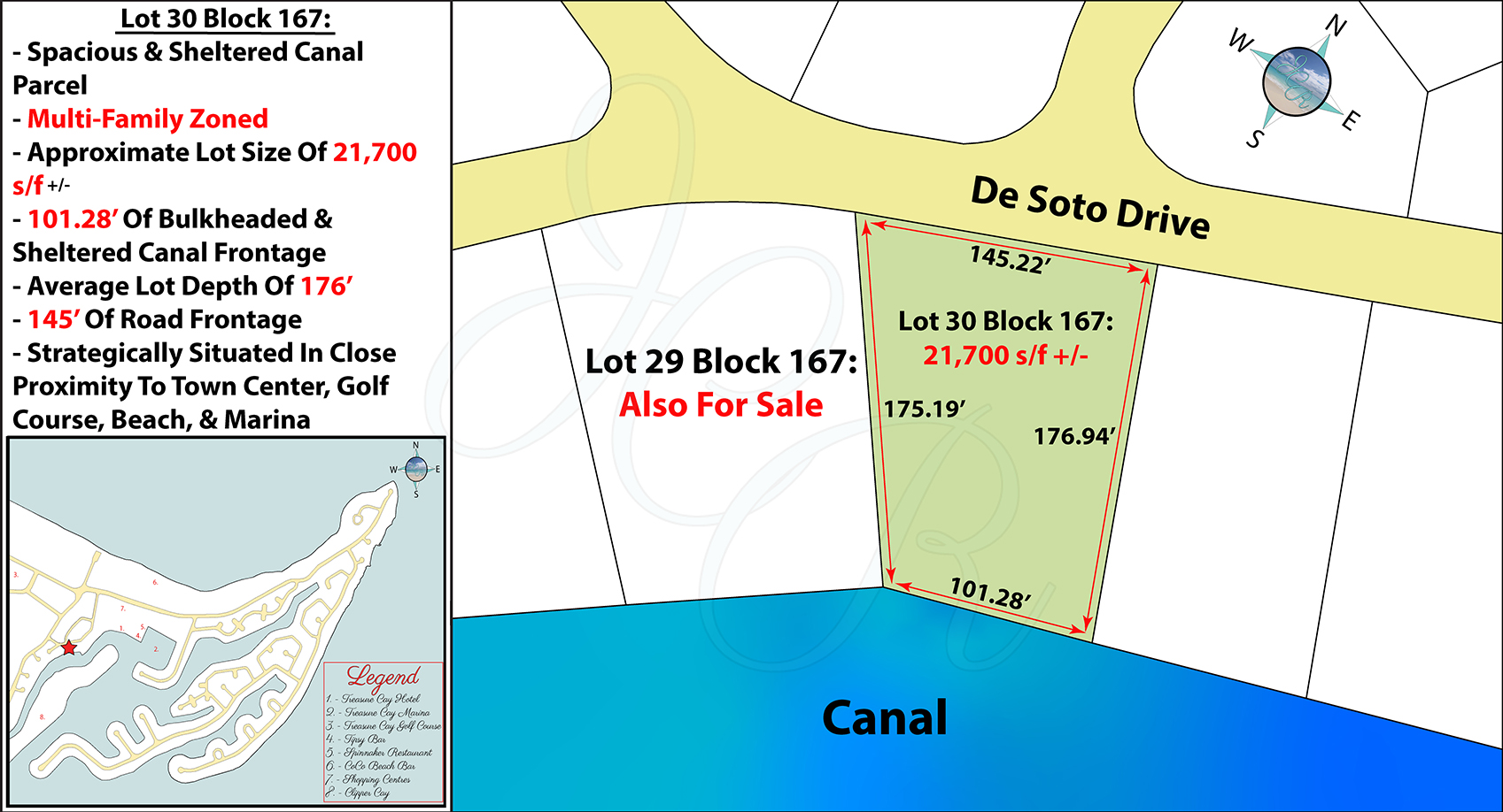 Lot 30 Block 167 Plot Plan John Cash Realty