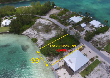 Lot 73 Block 199 - Sea of Abaco Waterfront Lot With Spectacular Views