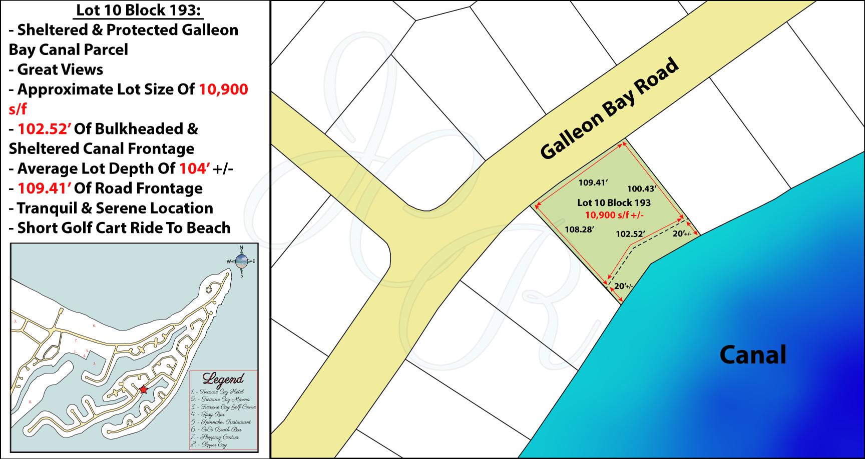 Lot 10 Block 193 Plot Plan John Cash Realty