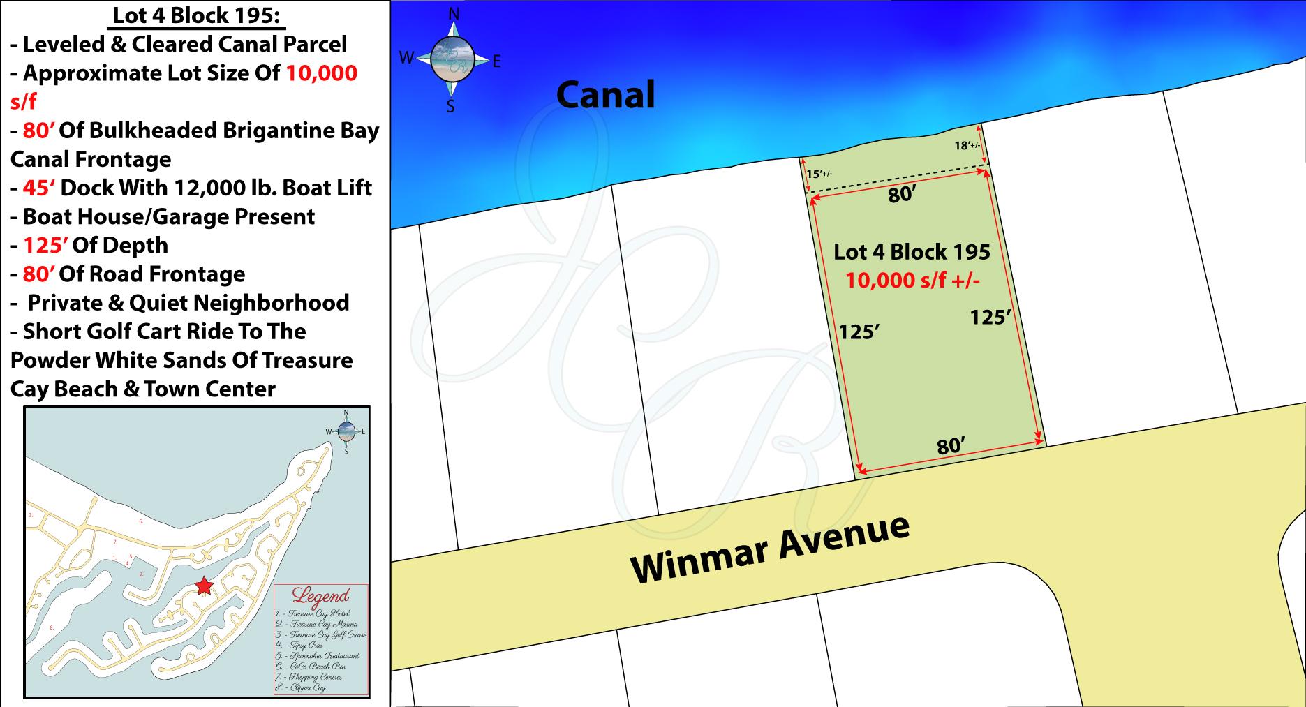 Lot 4 Block 195 Plot Plan John Cash Realty